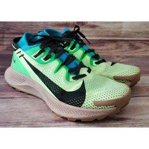 Nike Mens Pegasus Trail 2 Barely Volt Poison Green